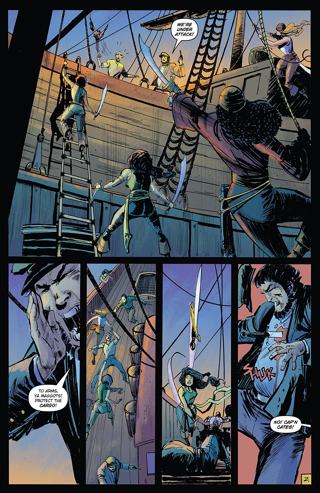 Five Ghosts #8