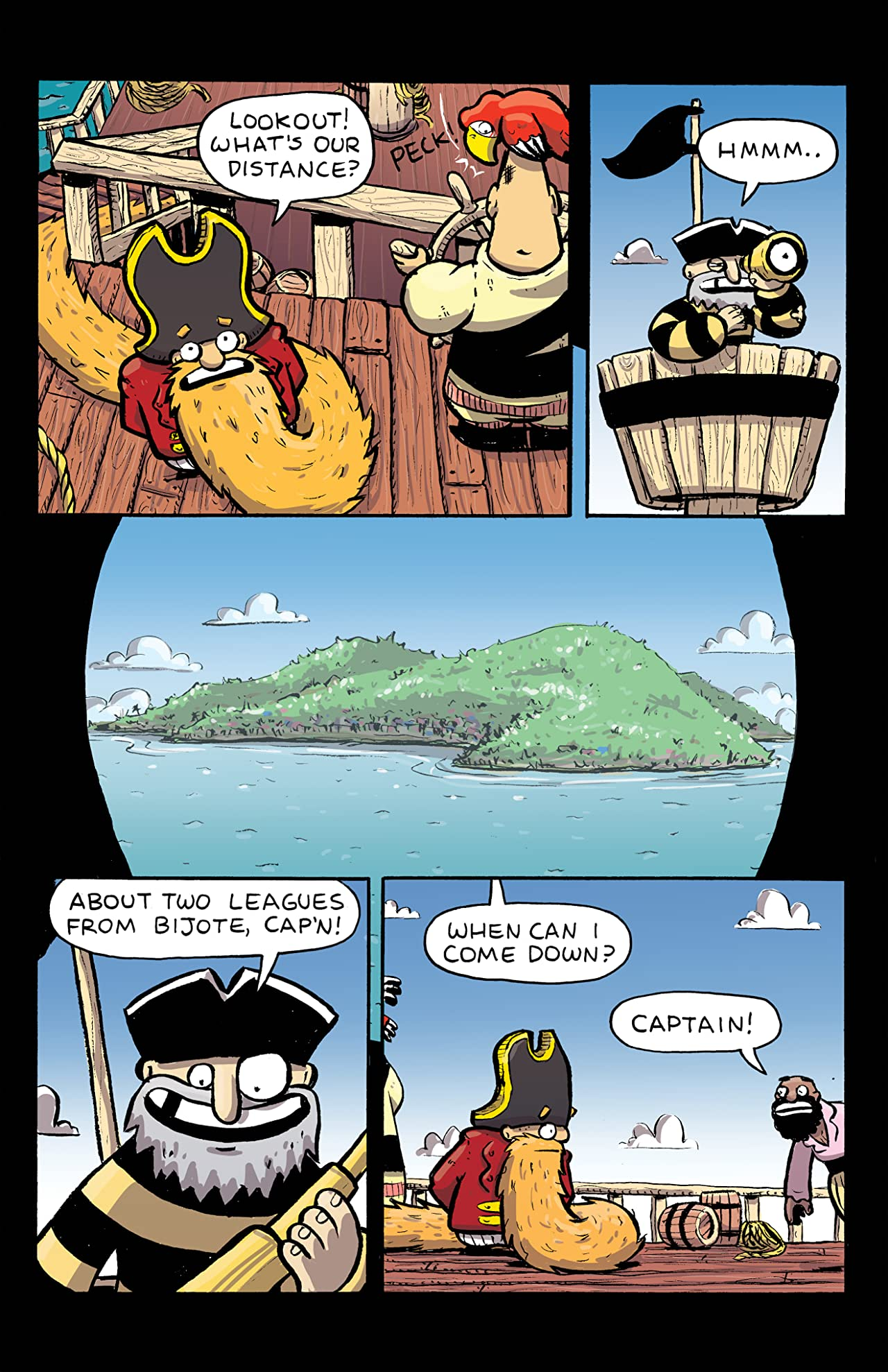 Captain Longbeard #2