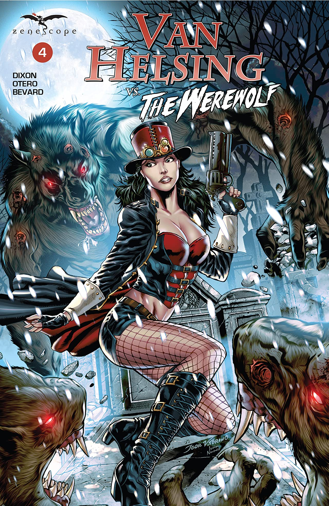 Van Helsing vs. The Werewolf #4