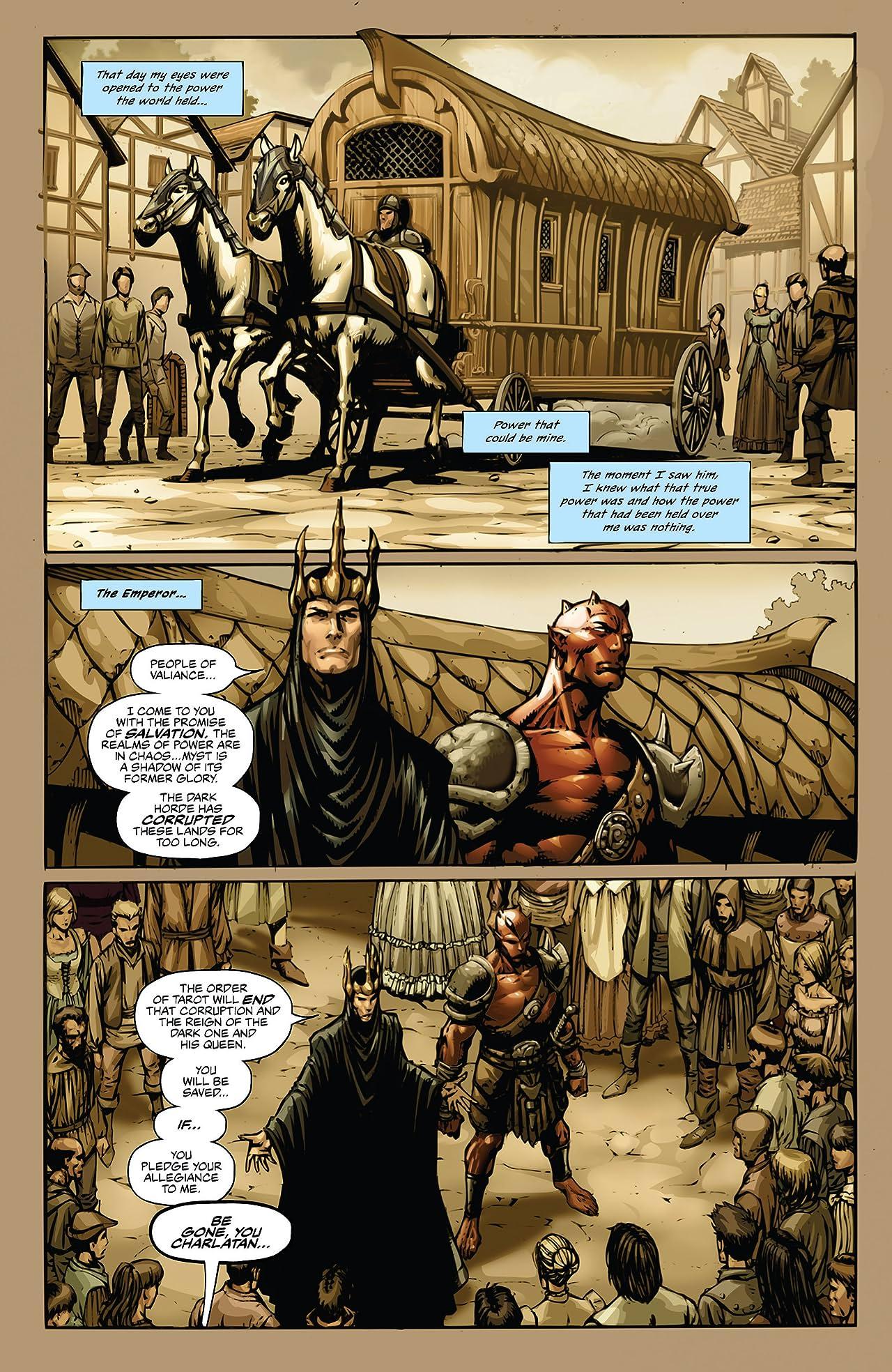 Grimm Fairy Tales: Tarot #4