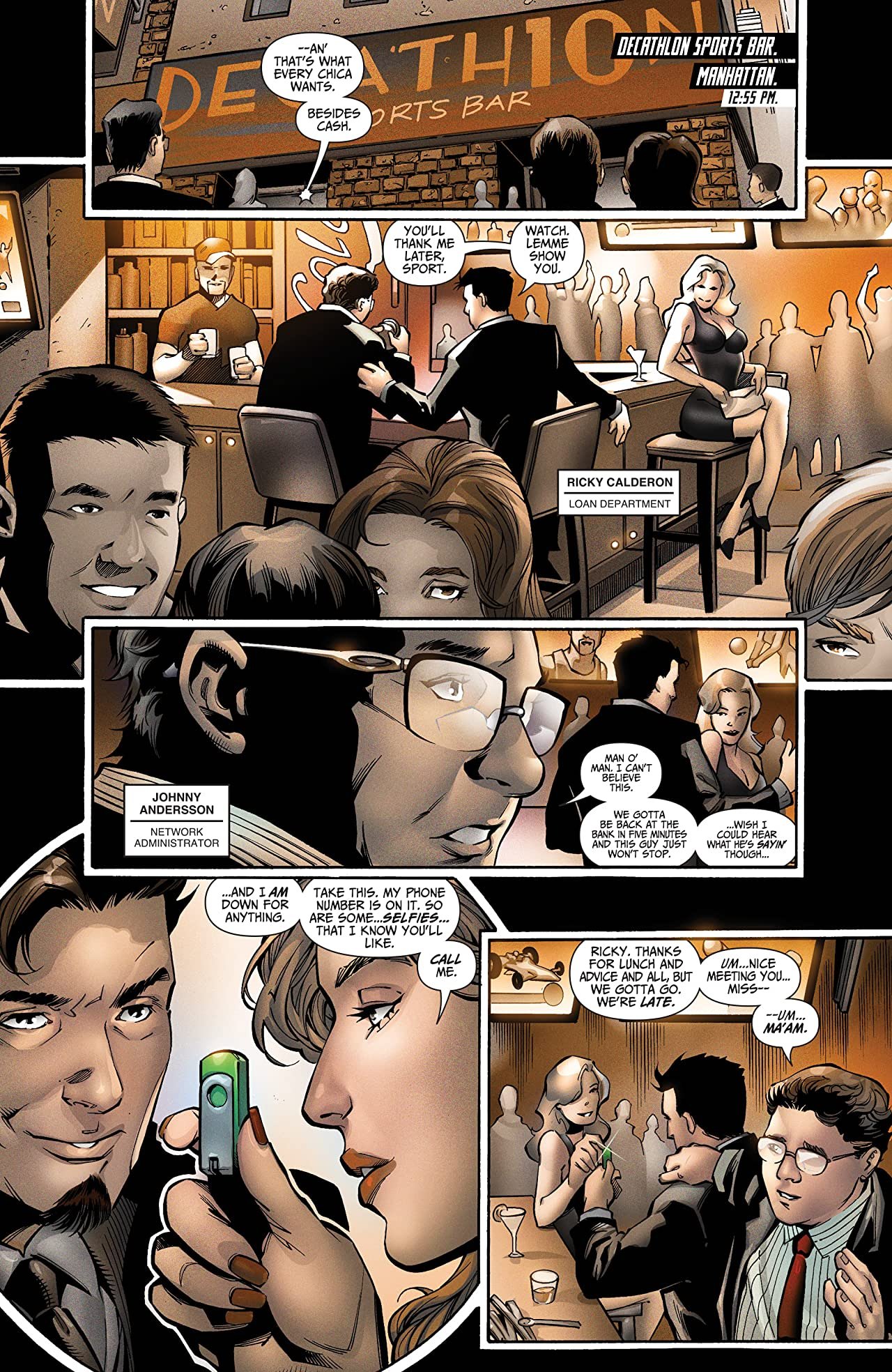 I.T. - The Secret World of Modern Banking Vol. 2 #1