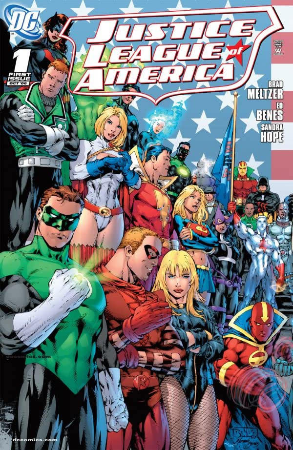 Justice League of America (2006-2011) #1