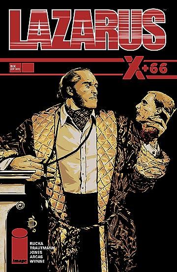 Lazarus: X+66 No.6 (sur 6)