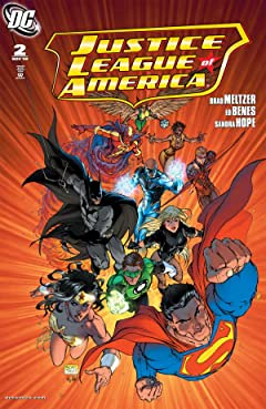 Justice League of America (2006-2011) No.2