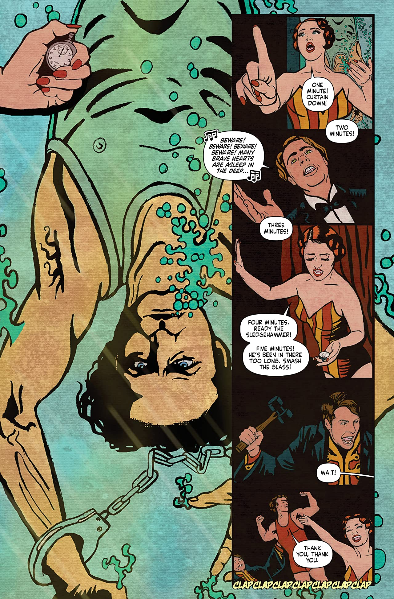 Minky Woodcock: The Girl Who Handcuffed Houdini #2