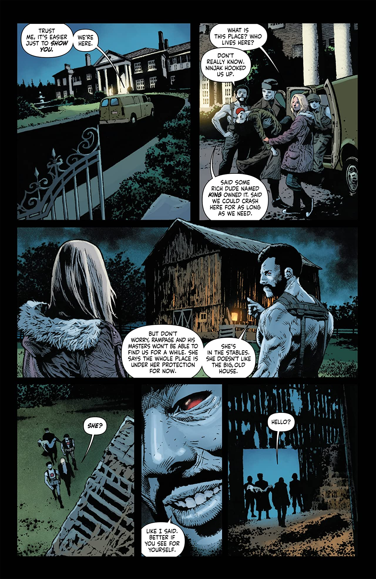 Bloodshot Salvation #3