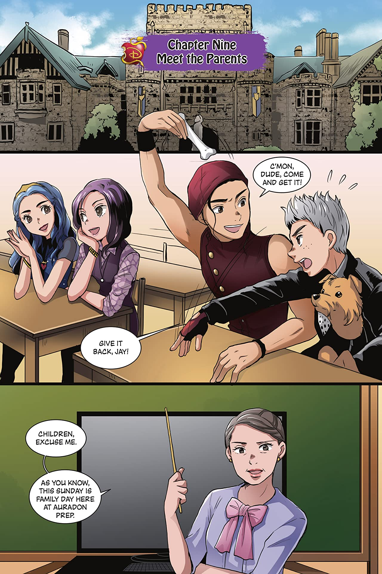 Disney Manga: Descendants #3