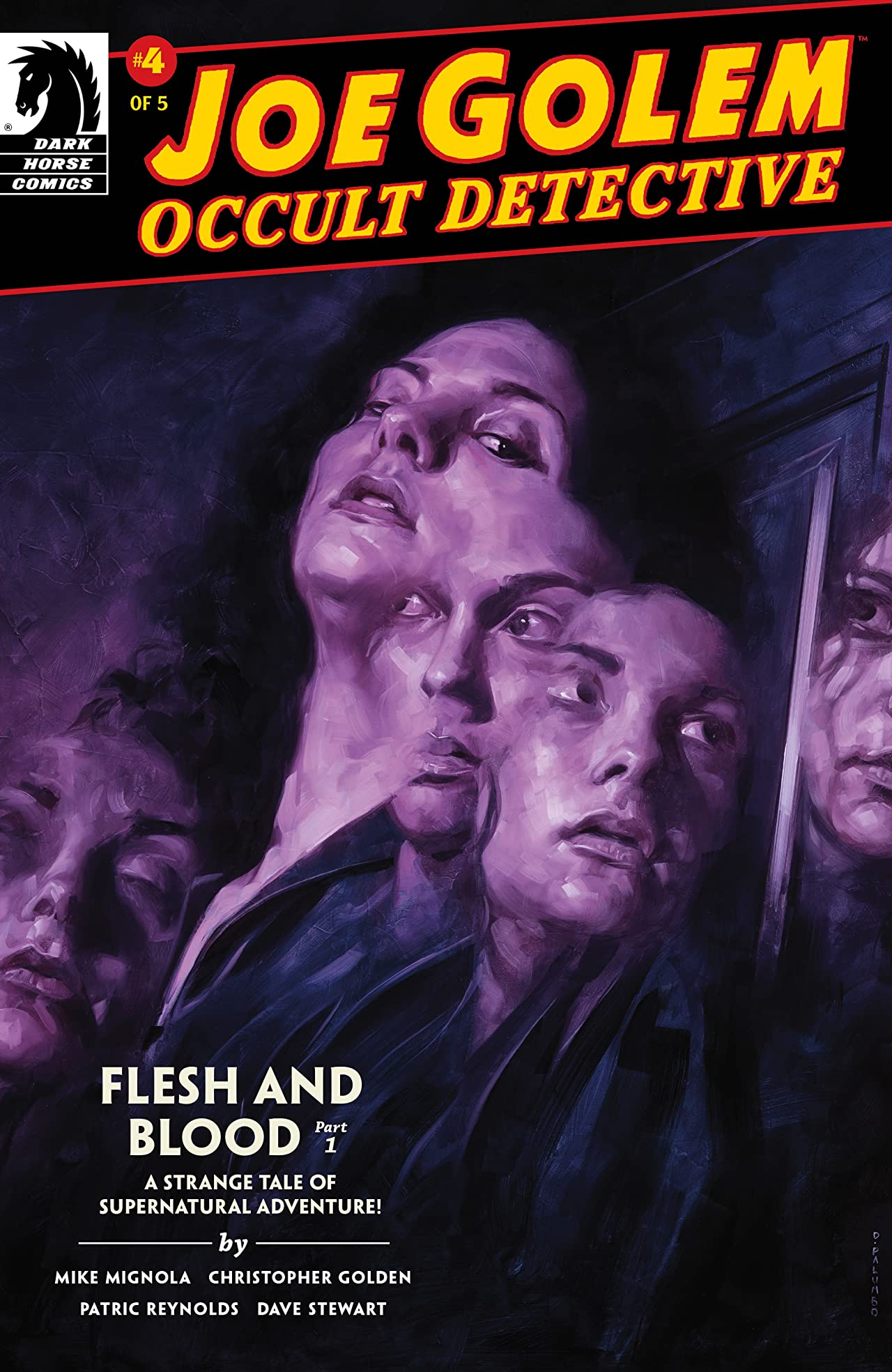 Joe Golem: Occult Detective-- Flesh and Blood #1