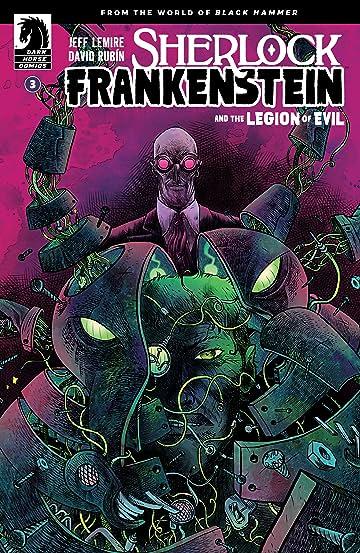 Sherlock Frankenstein & The Legion of Evil: From the World of Black Hammer #3