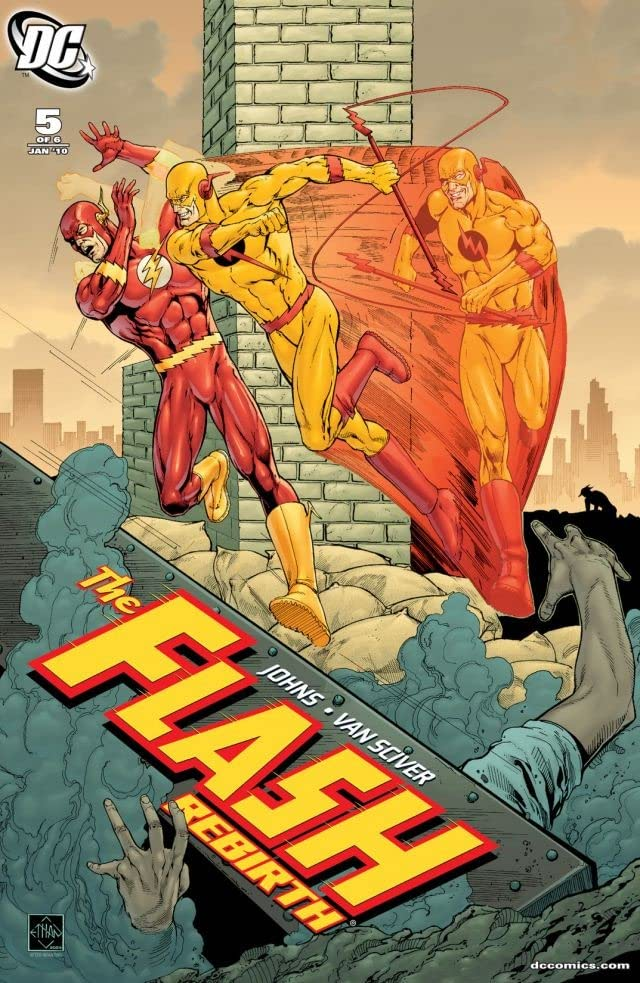 The Flash: Rebirth #5 (of 6)