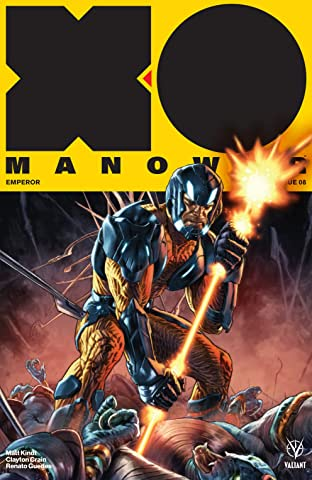 X-O Manowar (2017) No.8