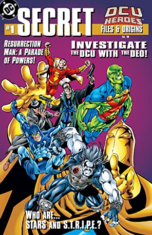 DCU Heroes Secret Files (1998) No.1