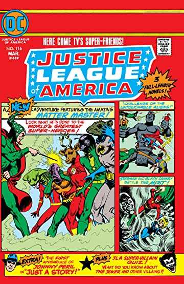 Justice League of America (1960-1987) #116