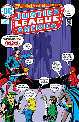 Justice League of America (1960-1987) #117