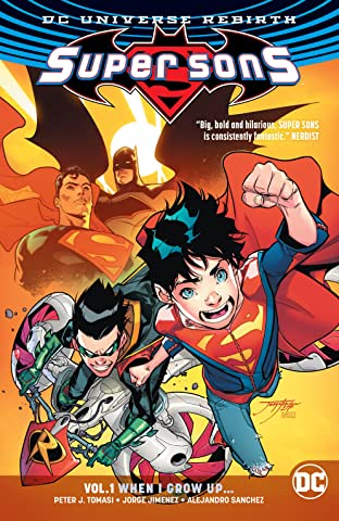 Super Sons (2017-2018) Vol. 1: When I Grow Up