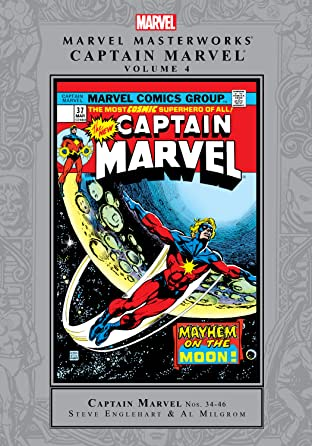 Captain Marvel Masterworks Tome 4