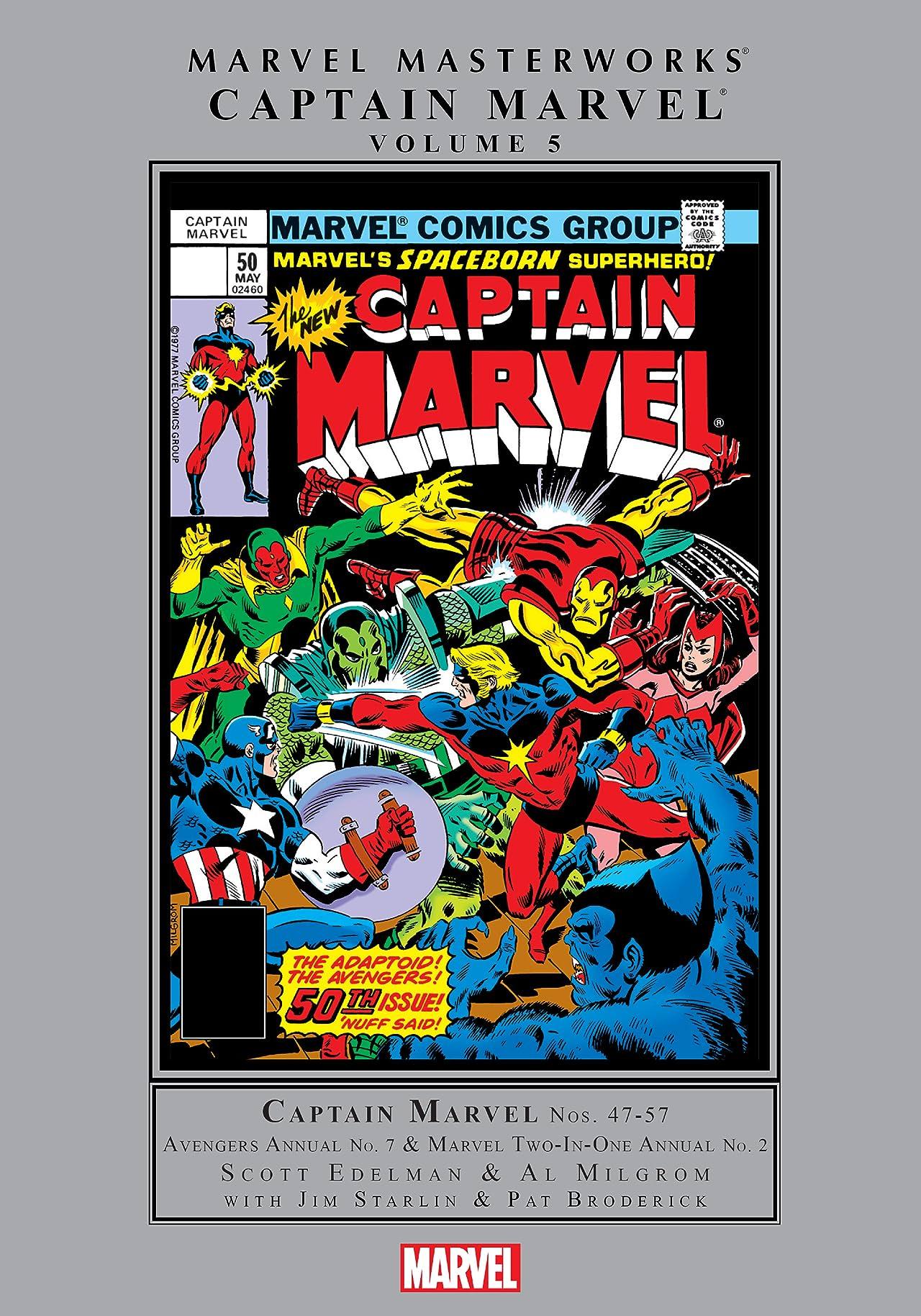 Captain Marvel Masterworks Vol. 5