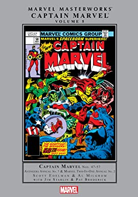Captain Marvel Masterworks Vol. 5
