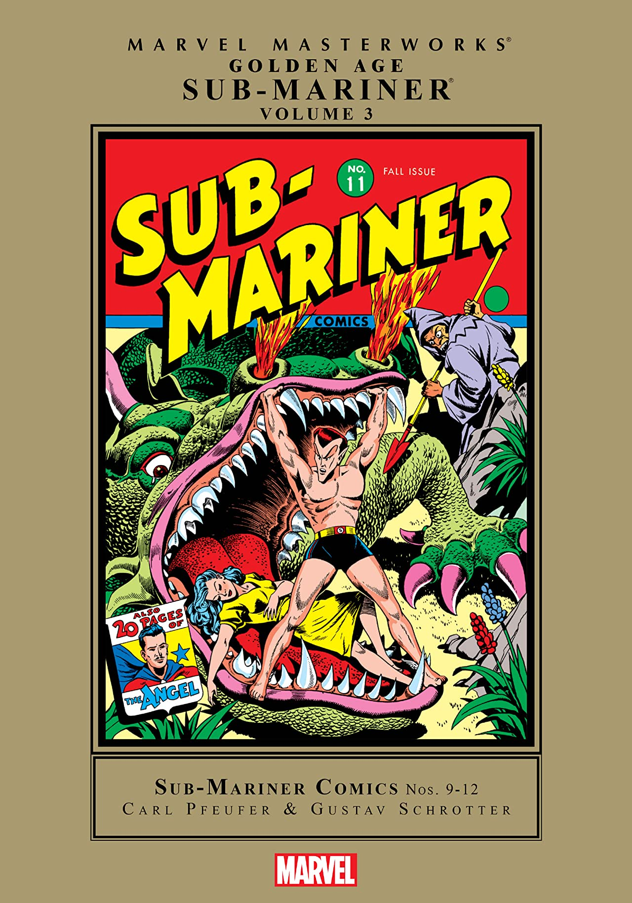 Sub-Mariner: Golden Age Masterworks Vol. 3