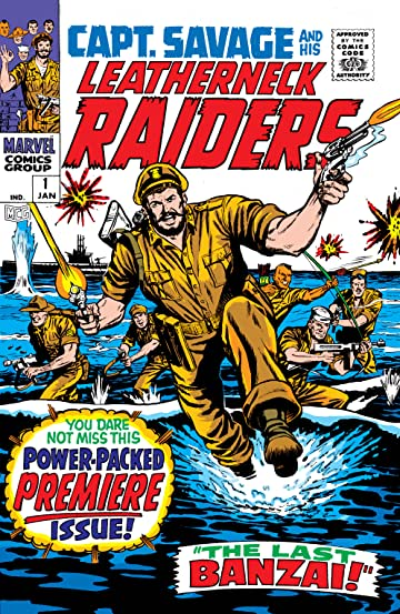 Captain Savage (1968-1970) #1