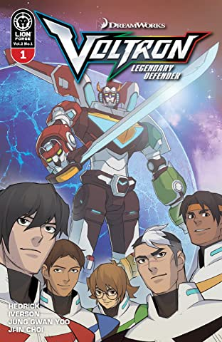 Voltron: Legendary Defender Vol. 2 #1
