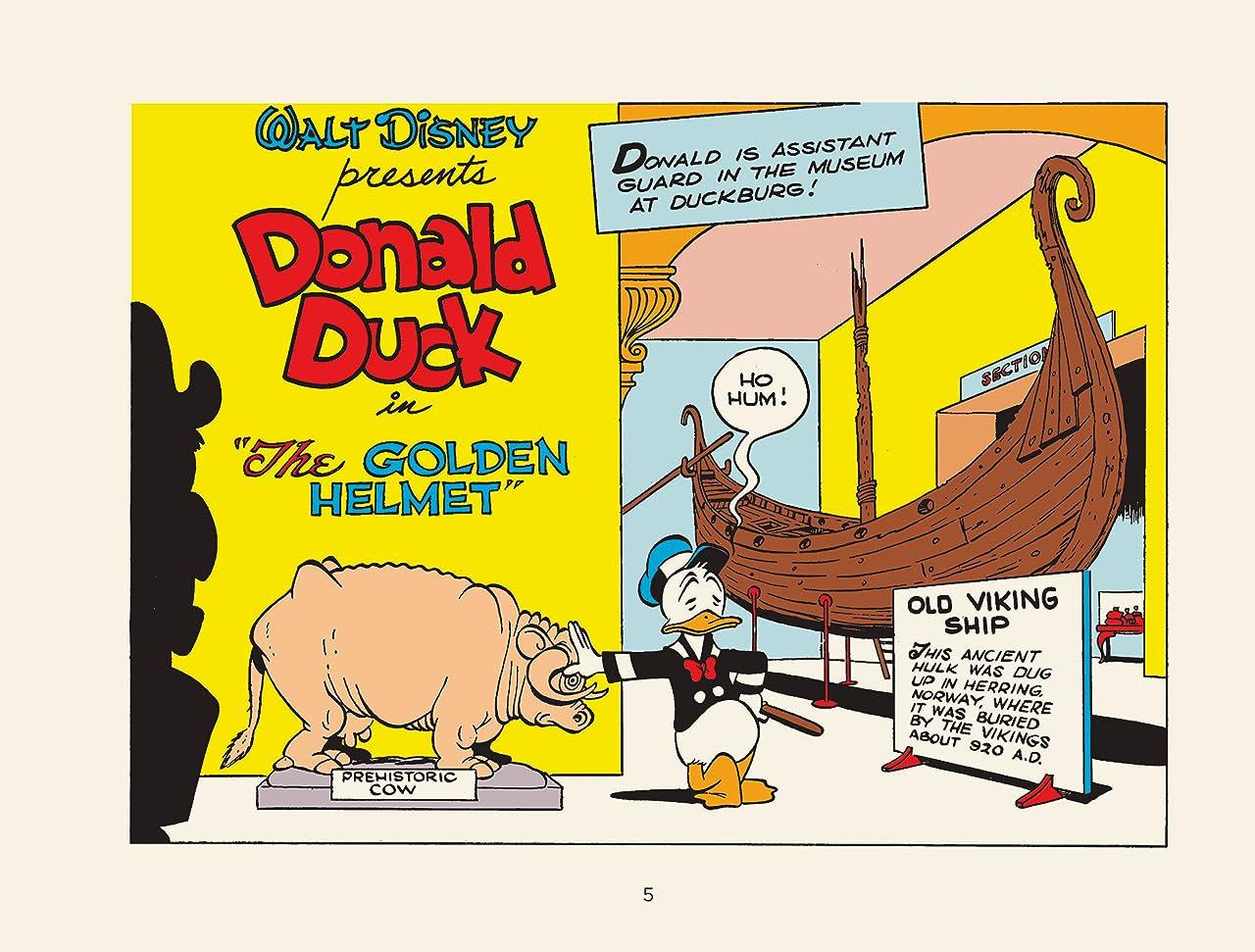 The Golden Helmet: Starring Walt Disney's Donald Duck