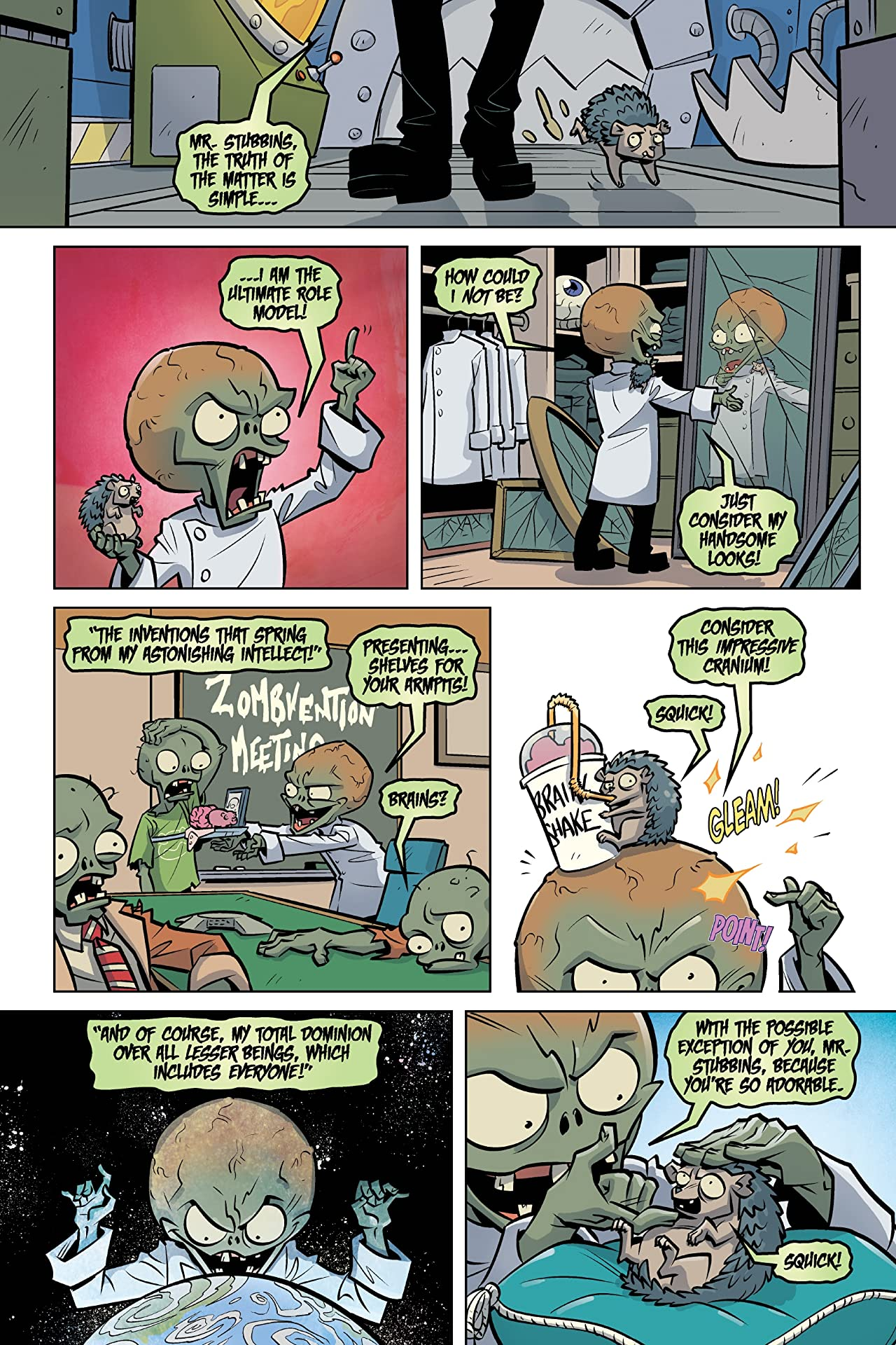 Plants vs. Zombies Vol. 8: Lawn of Doom