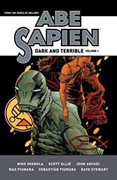Abe Sapien: Dark and Terrible Tome 1