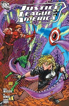 Justice League of America (2006-2011) No.4