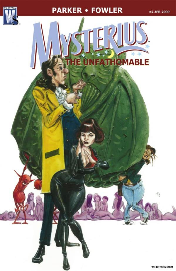 Mysterius: The Unfathomable #2