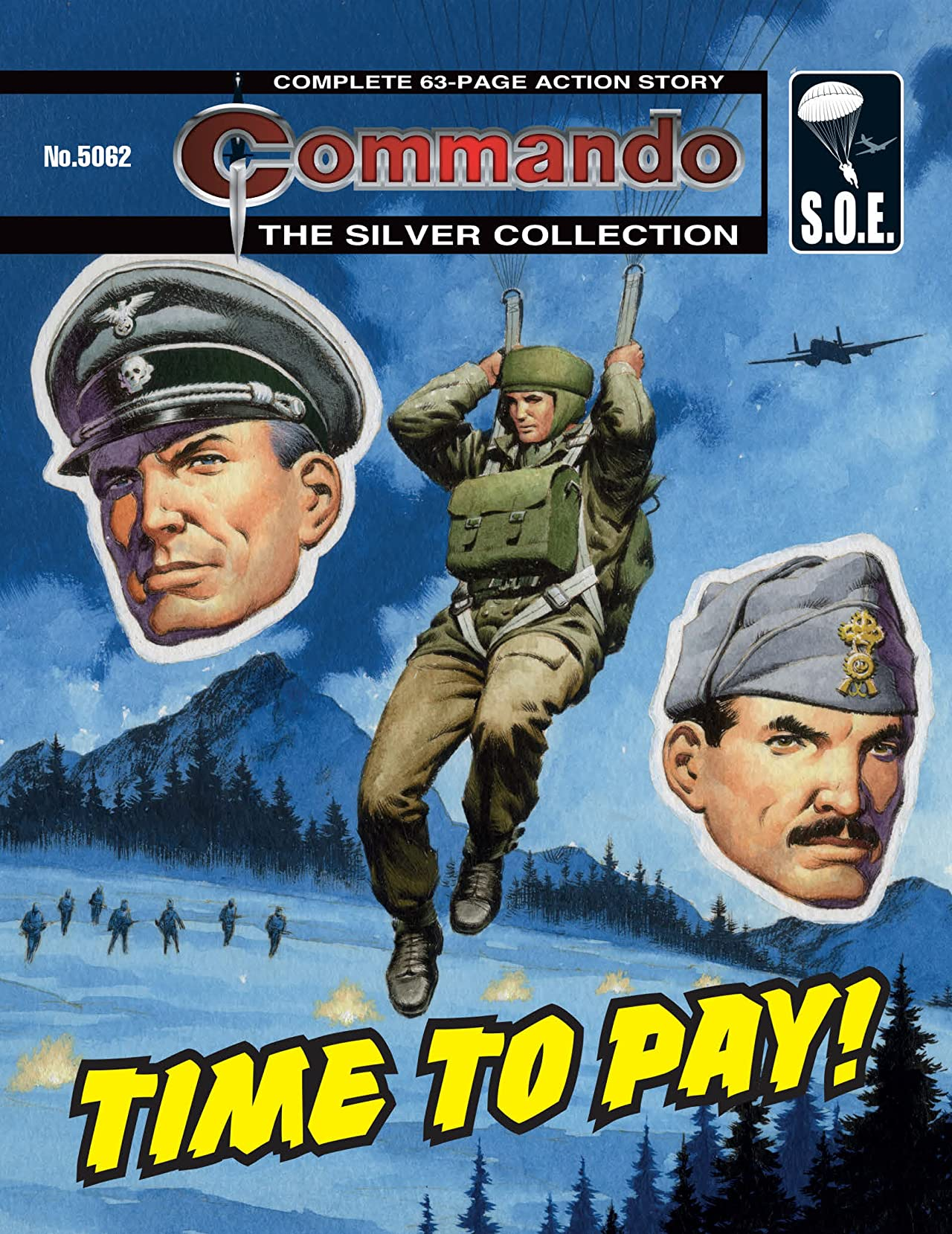 Commando #5062: Time To Pay!