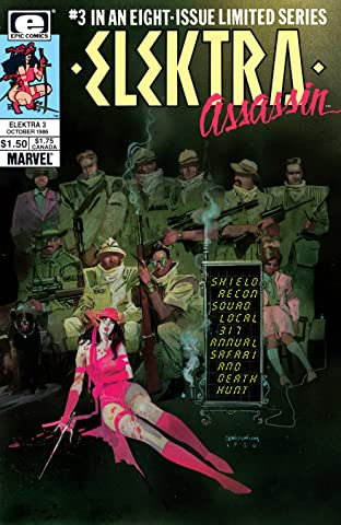 Elektra: Assassin (1986-1987) #3 (of 8)