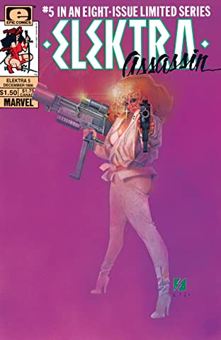 Elektra: Assassin (1986-1987) #5 (of 8)