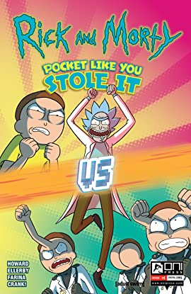 Rick and Morty: Pocket Like You Stole It #4 (of 5)