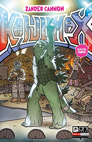 Kaijumax: Season Three #4