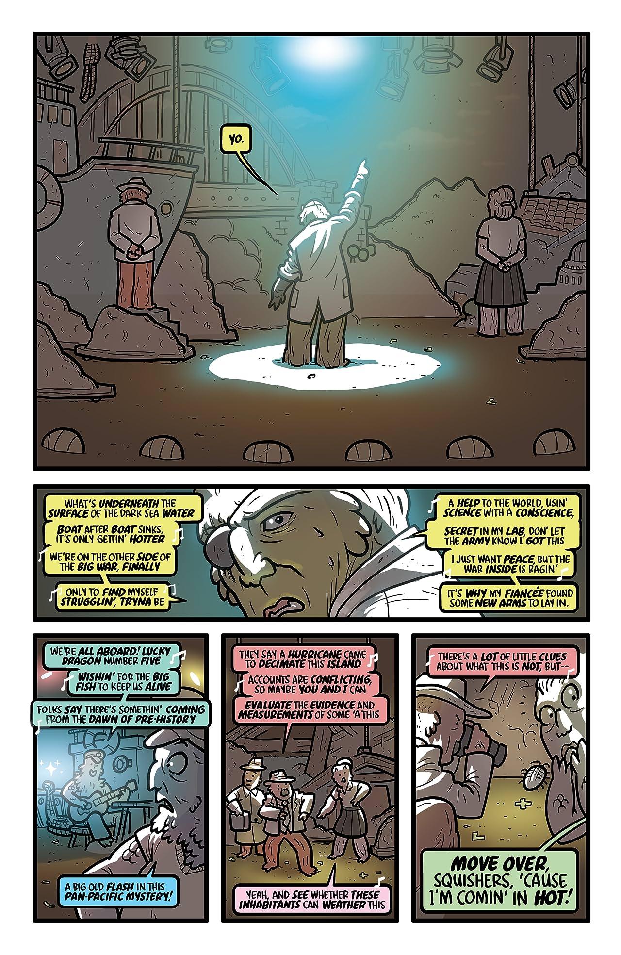 Kaijumax: Season Three #4