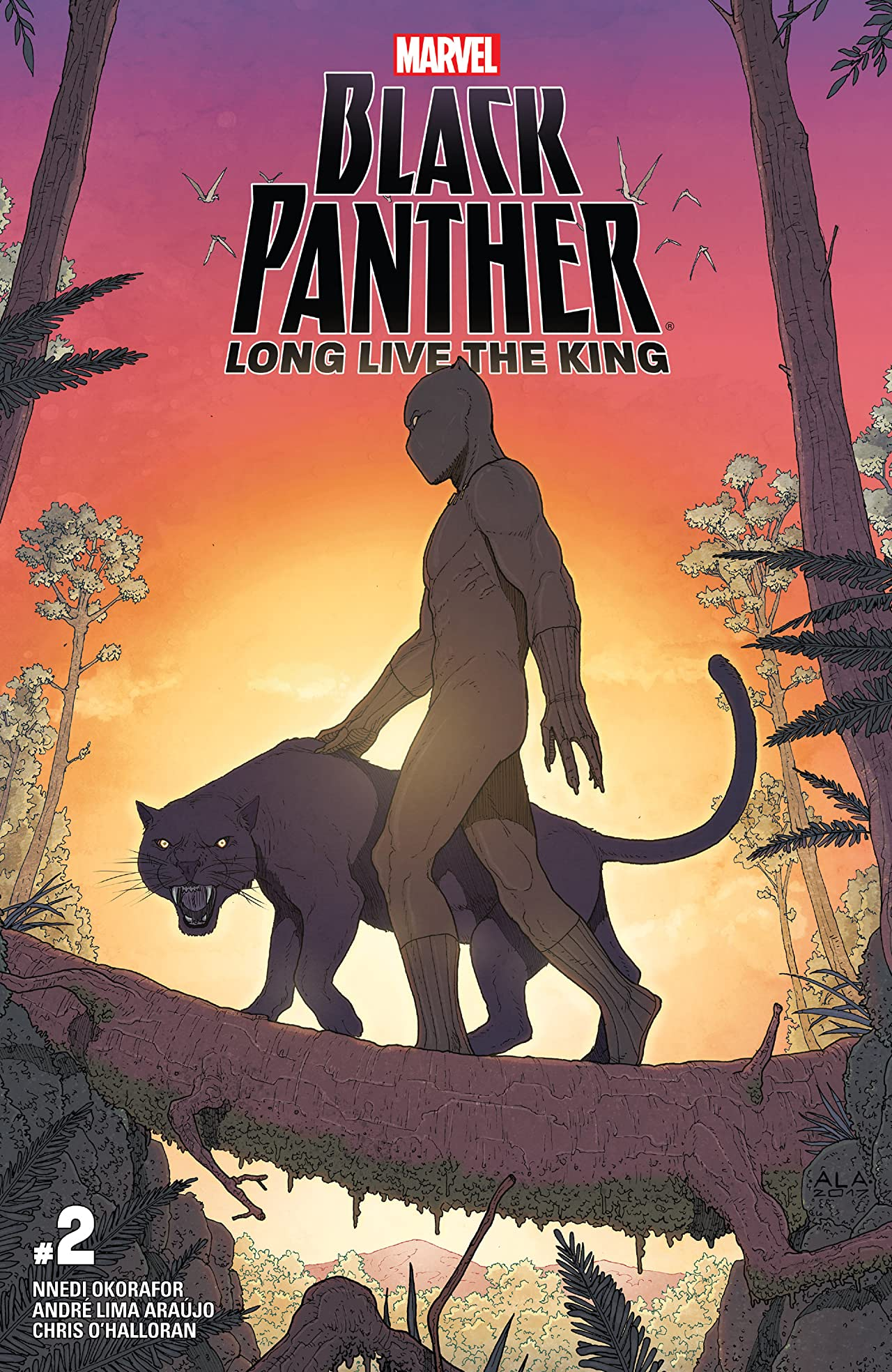 Black Panther: Long Live The King (2017-2018) #2 (of 6)