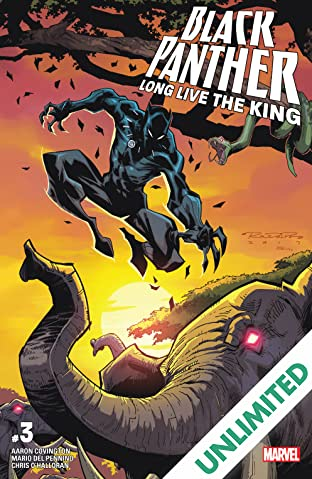 Black Panther: Long Live The King (2017-2018) #3 (of 6)