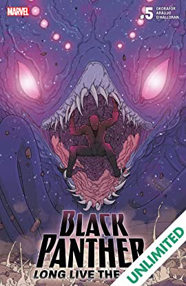 Black Panther: Long Live The King (2017-2018) #5 (of 6)