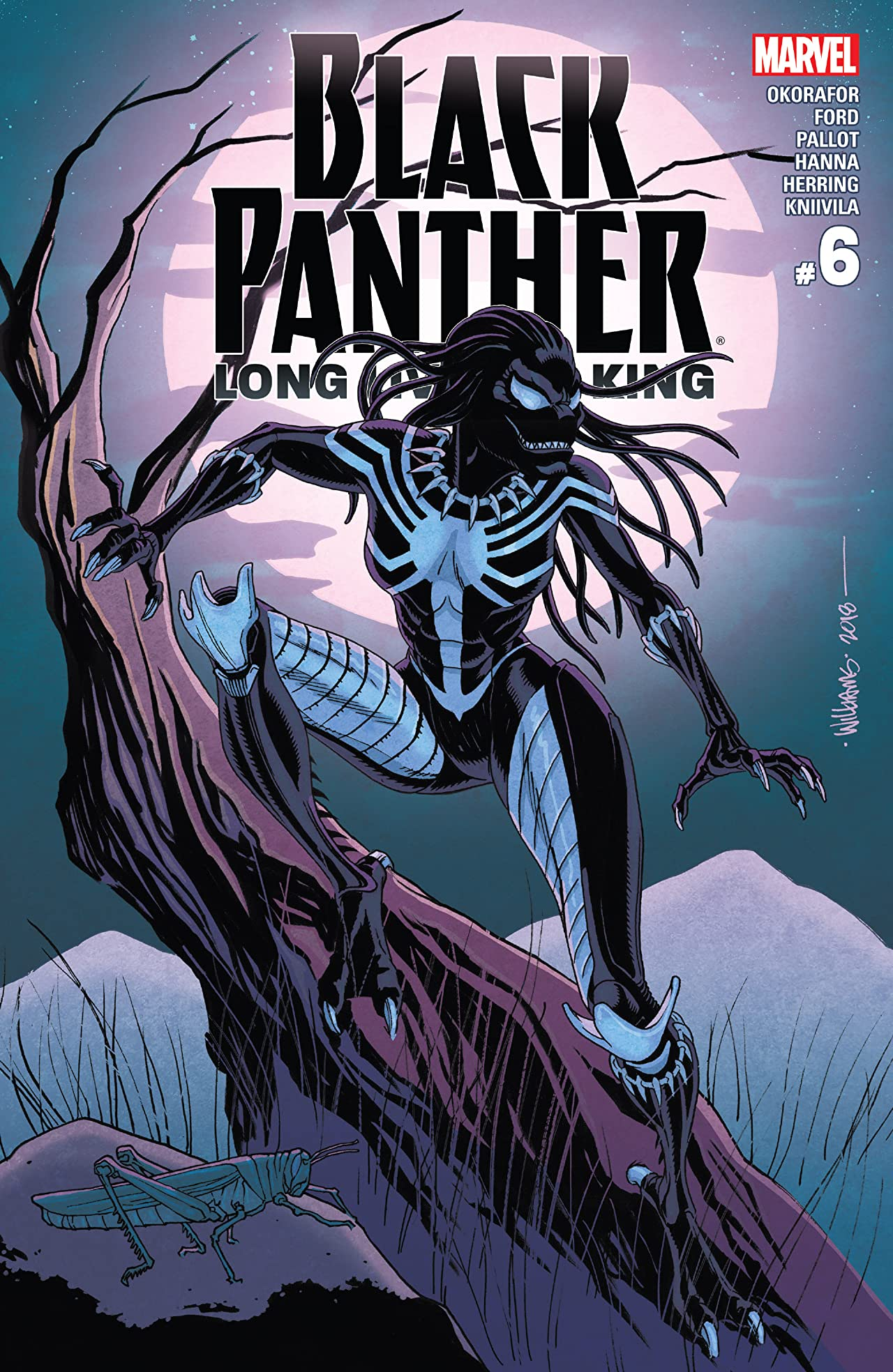 Black Panther: Long Live The King (2017-2018) No.6 (sur 6)