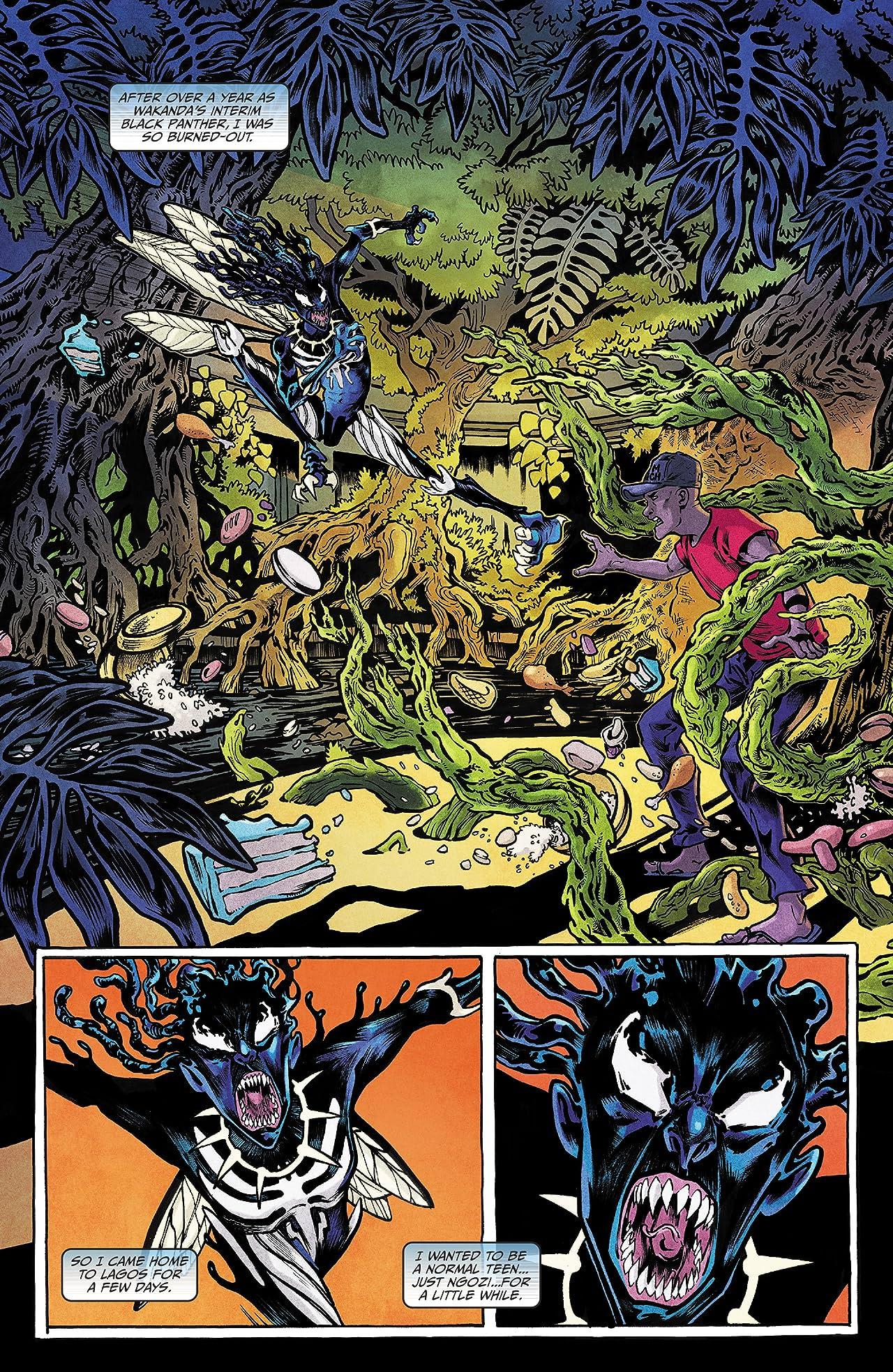 Black Panther: Long Live The King (2017-2018) No.6 (sur 6)