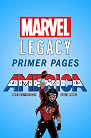 America - Marvel Legacy Primer Pages