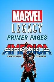 America - Marvel Legacy Primer Pages