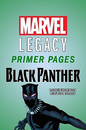 Black Panther - Marvel Legacy Primer Pages