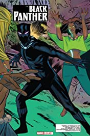 Black Panther - Marvel Legacy Primer Pages