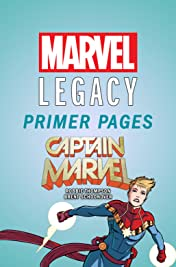 Captain Marvel - Marvel Legacy Primer Pages