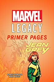 Jean Grey - Marvel Legacy Primer Pages