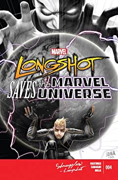 Longshot Saves The Marvel Universe #4 (of 4)