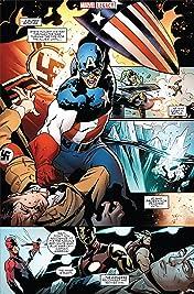 Captain America - Marvel Legacy Primer Pages
