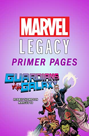 Guardians of the Galaxy - Marvel Legacy Primer Pages